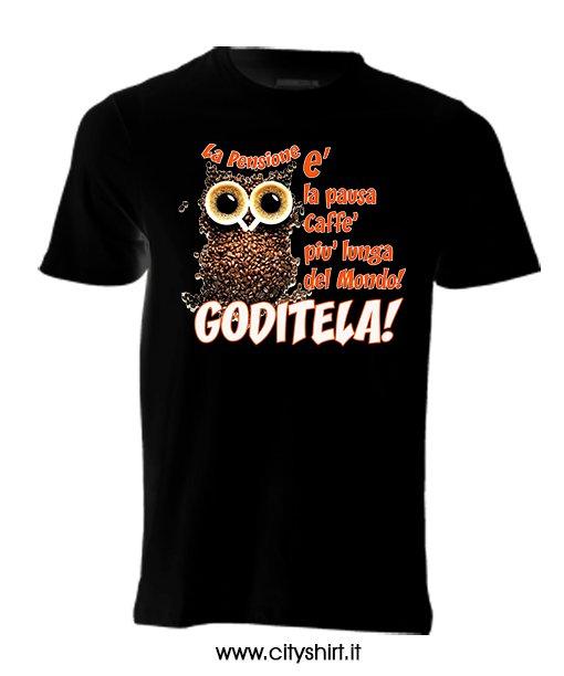 Caffe'Cityshirt Pausa T Shirt Pensione T Shirt K1lJTFc
