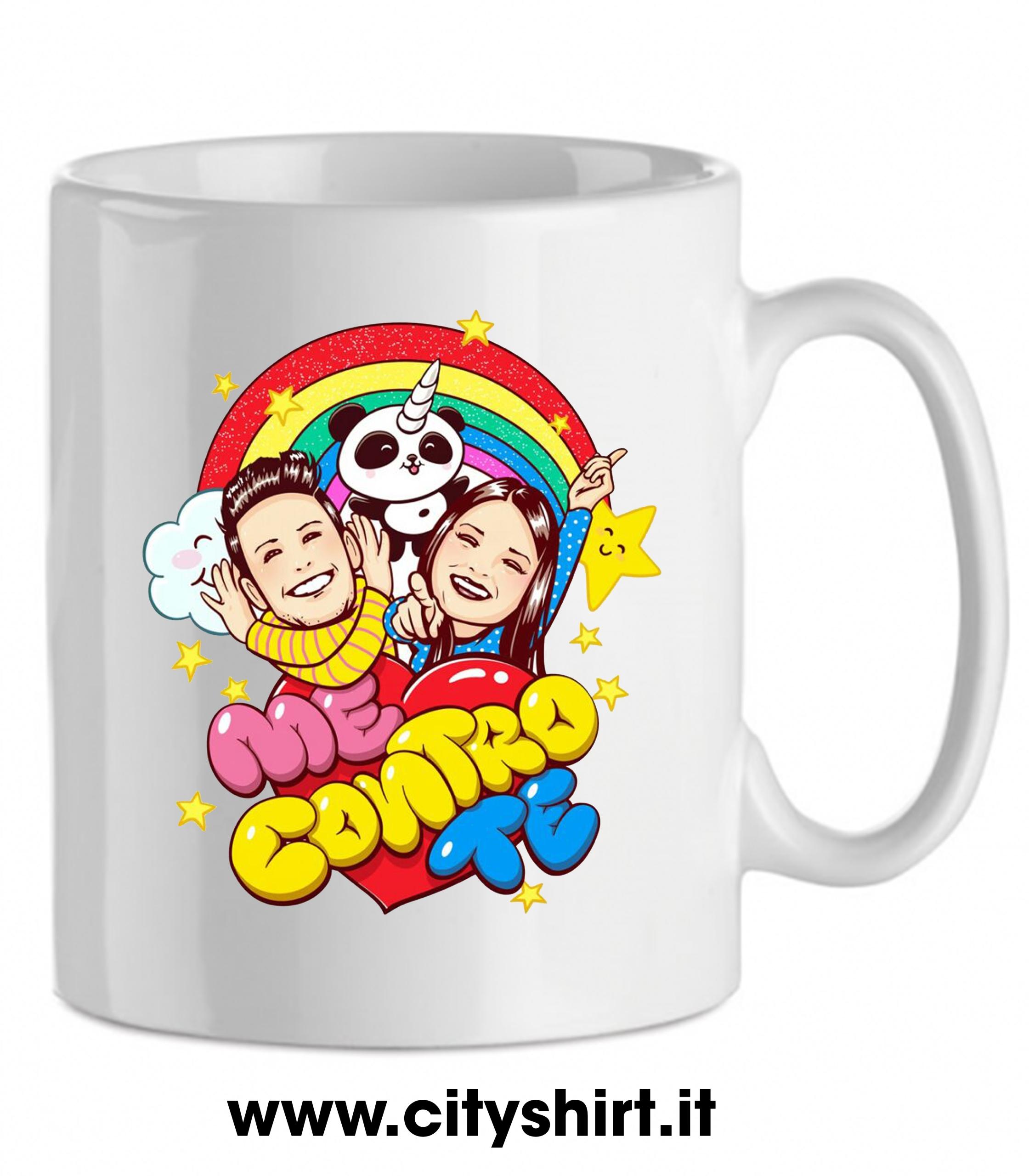 Tazze Da Te Personalizzate tazza mug me contro te