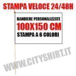 BANDIERA 100X150 CITYSHIRT
