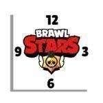 Orologio Da Parete Brawnl Stars
