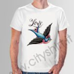 shirt love bird